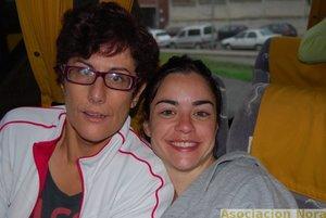 Lorena con Bea