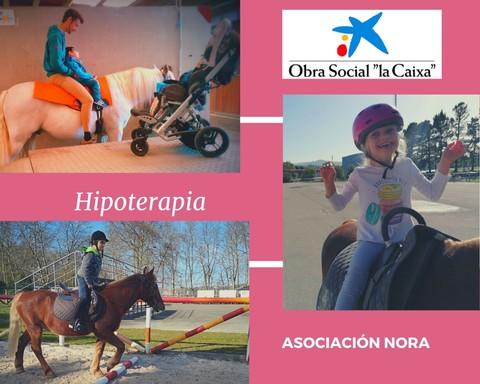 Obra Social La Caixa financia nuestro programa de hipoterapia 2019/2020