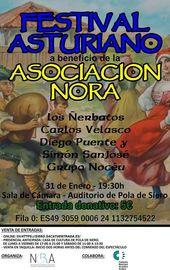 Festival Asturiano a beneficio de la Asociación Nora