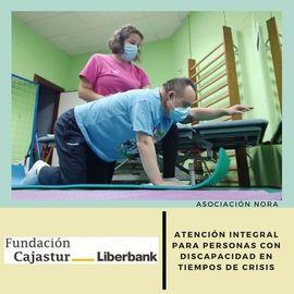 Fundación Liberbank cofinancia nuestro proyecto: Atención Integral Para Personas Con Discapacidad En Tiempos De Crisis